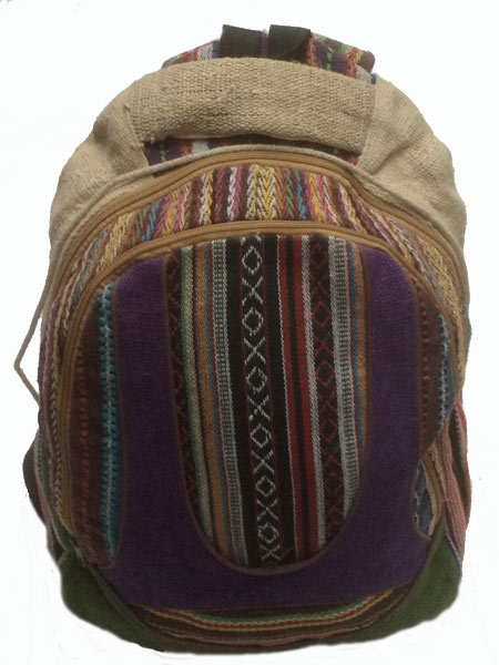 Pure Hemp Backpacks Nepal Hemp Bags