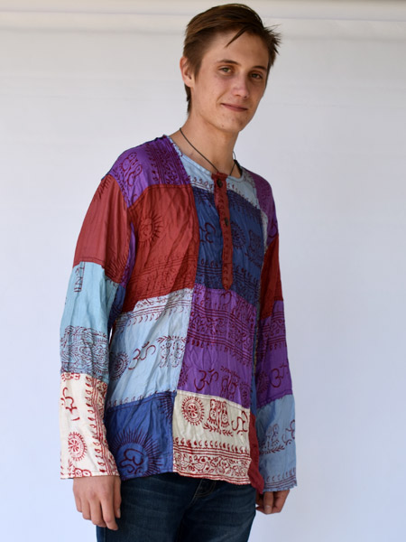 Mens Mexican Style Shirts