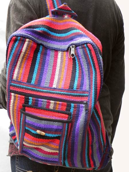 Woven Backpacks Made In The Himalayas Order Online