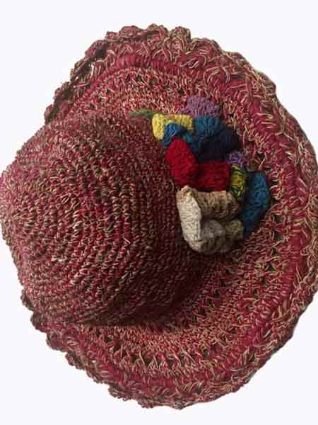 low priced price reduced performance sportswear Hemp crochet hat