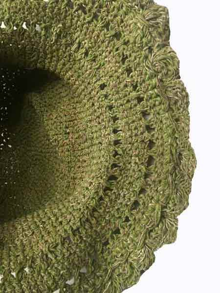 low price sale shop detailing Funky crochet hemp hat