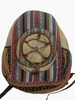 Hemp backpack from Nepal
