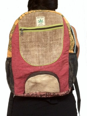 9141dcc9f1 Order hemp backpacks at wholesale prices made from Nepalese hemp.
