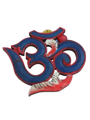 Om Wooden Wall Hanging