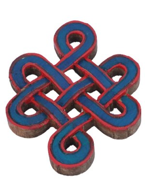 Wooden Endless knot wall hanging