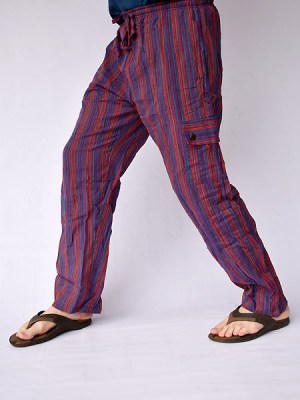 Nepal-stripe-cotton-pants5