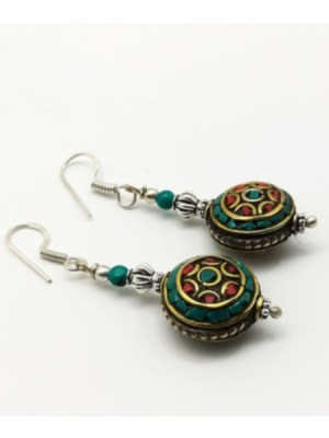 Colour Stone Earring