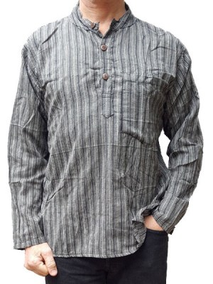 grandad-shirt-grey