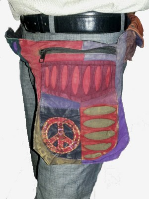 hippie-peace-sign-waist-bag