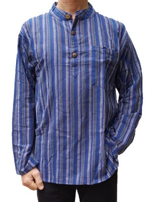 kurtha-shirt-blue
