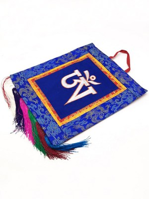 Tibetan Mantra Wall Hanging