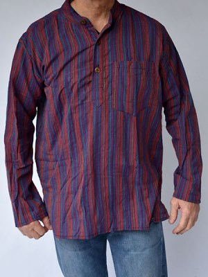 stripe-cargo-cotton-shirt