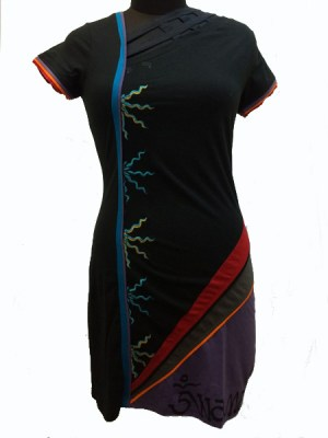 Chic Nepalese dress styled and made in Kathmandu