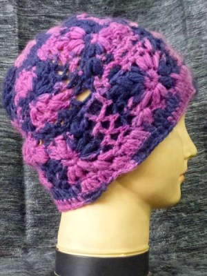 crochet beanie hand knitted in Nepal