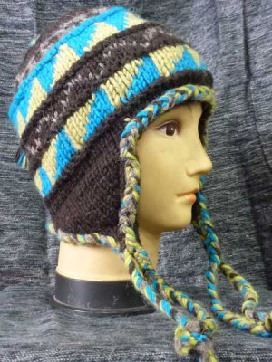 Mixed color wholesale earflap hat