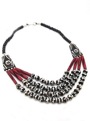 Yak Bone Tibetan Necklace